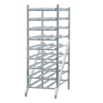 "New Age 1256 71""H Stationary Can Rack w/ (216) #10 or (297) #5 Capacity, Adjustable Feet"