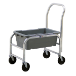 New Age 1265H Lug Dolly for Bulk Food w/ 1 Lug Capacity