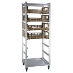 "New Age 1316 26""W 8 Produce Crisper Rack w/ 10.75"" Bottom Load Slides"