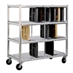 New Age 96704 3 Level Mobile Drying Rack for Trays