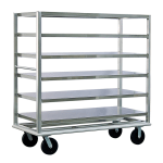 "New Age 98183 65.5"" Queen Mary Cart w/ 6 Levels, 3000 lb Capacity"