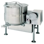 Cleveland KGL80T 80-Gallon Tilting Kettle w/ Electronic Spark, 2/3 Steam Jacket, LP