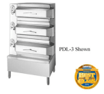 Cleveland PDL2 Direct Steam Floor Model Steamer w/ (16) Full Size Pan Capacity, 120v