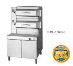 Cleveland PSM2 Steam Coil Floor Model Steamer w/ (16) Full Size Pan Capacity, 115v