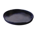 """Allied Metal Spinning CPHA10X1 10"""" Straight Sided Pizza Pan, 1"""" Deep, Solid, Aluminum"""