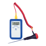 Comark KM28/P13 Digital Type K Thermocouple Temperature Tester w/ PK24M Probe