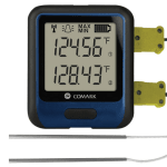 Comark RF314DUAL Temperature Data Logger w/ Dual Probes, -454°F to 2372°F Temperature Range