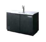 "Beverage Air DD50-1-B 50"" Draft Beer System w/ (2) Keg Capacity - (1) Column, Black, 115v"