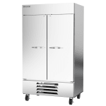 "Beverage Air HBF44-1-S 47"" Two Section Reach-In Freezer, (2) Solid Doors, 115v"