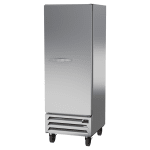 "Beverage Air HBR12HC-1-SW 24"" One-Section Reach-In Refrigerator w/ (1) Solid Door, 115v"