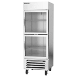 "Beverage Air HBR27HC-1-HG 30"" Single Section Reach-In Refrigerator, (1) Glass Door, 115v"