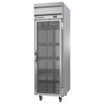 "Beverage Air HFS1HC-1G 26"" One Section Reach-In Freezer, (1) Glass Door, 115v"