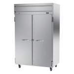 "Beverage Air HRPS2-1S 52"" Two Section Reach-In Refrigerator, (2) Solid Doors, 115v"