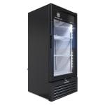 """Beverage Air MT10-1B 25"""" One Section Glass Door Merchandiser w/ Swing Door, Black, 115v"""
