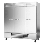 "Beverage Air RB72HC-1S 75"" Three-Section Reach-In Refrigerator, (3) Solid Doors, 115v"