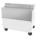Beverage Air SMF49HC-1-W Milk Cooler w/ Top & Side Access - (768) Half Pint Carton Capacity, 115v