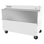 Beverage Air SMF58HC-1-W-02 Milk Cooler w/ Top & Side Access - (1024) Half Pint Carton Capacity, 115v