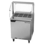 "Beverage Air SPE27HC-SNZ 27"" Sandwich/Salad Prep Table w/ Refrigerated Base, 115v"