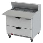 "Beverage Air SPED36HC-10C-2 36"" Sandwich/Salad Prep Table w/ Refrigerated Base, 115v"