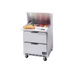 "Beverage Air SPEDP27C-B 27"" Sandwich/Salad Prep Table w/ Refrigerated Base, 115v"