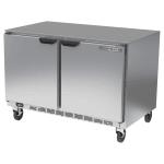 Beverage Air UCF48AHC 11.04-cu ft Undercounter Freezer w/ (2) Section & (2) Door, 115v