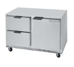 Beverage Air UCRD48A-2 13.9-cu ft Undercounter Refrigerator w/ (2) Sections, (2) Drawers & (1) Door, 115v