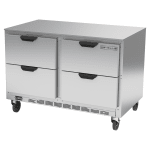 Beverage Air UCRD48AHC-4 13.9 cu ft Undercounter Refrigerator w/ (2) Sections & (4) Drawers, 115v