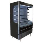 """Beverage Air VM18-1-G-LED 51.6"""" Vertical Open Air Cooler w/ (6) Levels, 115v"""