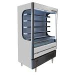 """Beverage Air VM18-1-W-LED 51.6"""" Vertical Open Air Cooler w/ (6) Levels, 115v"""