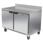 Beverage Air WTF48AHC 11.04 cu ft Worktop Freezer w/ (2) Section & (2) Door, 115v