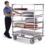 """Lakeside 588 51.75"""" Queen Mary Cart w/ 6 Levels, 1000-lb Capacity"""