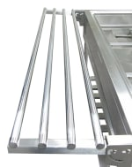 Adcraft EST-240TH Stainless Steel Tray Holder - (EST-240)