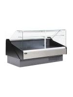 "Kool-It KFM-80S 78"" Full Service Deli Case w/ Curved Glass - (1) Levels, 115v"