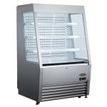 "Kool-It KOM-36 SS 36"" Vertical Open Air Cooler w/ (4) Levels, 115v"