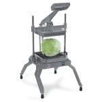 "Nemco 55650-6 Angled Lettuce Cutter w/ .75x.75"" Square & Scalloped Interlocked Blades, Aluminum"