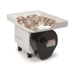 Nemco 55950 Shrimp Cutter & Deveiner w/ Feeder Tray Depth Roller 3500-Pieces Per Hour 120/1V