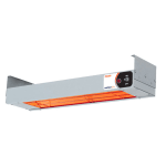 Nemco 6155-72 Single Bar Heater w/ Infrared Heating Element - Remote-Controlled, 120v
