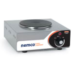 "Nemco 6310-1 12"" Electric Hotplate w/ (1) Burner & Infinite Controls, 120v"