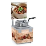 Nemco 6510A-S7 7 qt Countertop Soup Warmer w/ Thermostatic Controls, 120v