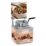 Nemco 6510A-S7P 7 qt Countertop Soup Warmer w/ Thermostatic Controls, 120v