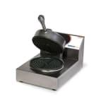 Nemco 7000-2240 Dual Waffle Baker w/ Digital Programmable Control Floating Hinge 7.4 amps 240/1V