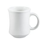 CAC PM7W 7 oz Provo Mug - Ceramic, American White