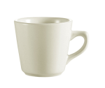 CAC REC-1 American White Coffee Cup, REC, Round