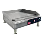 "Cecilware EL1624 24"" Electric Griddle - Thermostatic, 1/2"" Steel Plate, 240v/1ph"