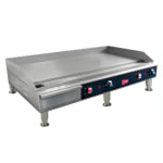 "Cecilware EL1636 36"" Electric Griddle - Thermostatic, 1/2"" Steel Plate, 240v/1ph"
