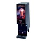 Cecilware GB1CP 1 Flavor Cappuccino Machine w/ (1) 8 lb Hoppers, 120v