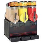 Cecilware NHT3ULBL Triple Slush Machine w/ 2.5-gal Capacity, Manual Fill, Black, 115v