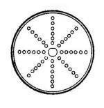 "Electrolux 653178 .08"" Grating Blade - RD2"