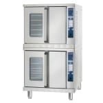 Alto Shaam 2-ASC-4E/STK/E Double Full Size Electric Convection Oven - 208v/1ph