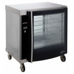 Alto Shaam AR-7H-SGLPANE 1/2 Height Insulated Mobile Heated Cabinet w/ (8) Pan Capacity, 120v